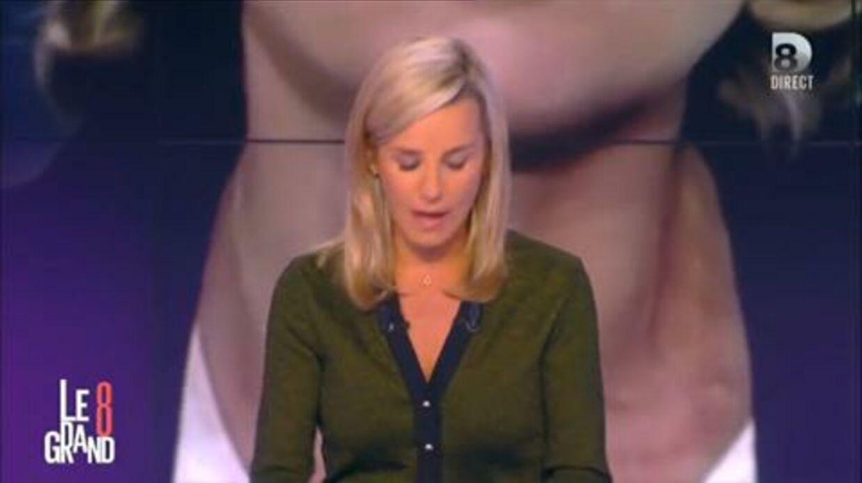 VIDEO Laurence Ferrari très émue: le départ de Claire Chazal lui a rappelé le sien