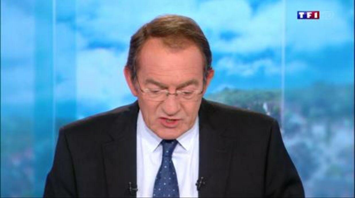 VIDEO Mort de Guy Béart: Jean-Pierre Pernaut, les yeux embués, lui rend hommage dans son JT