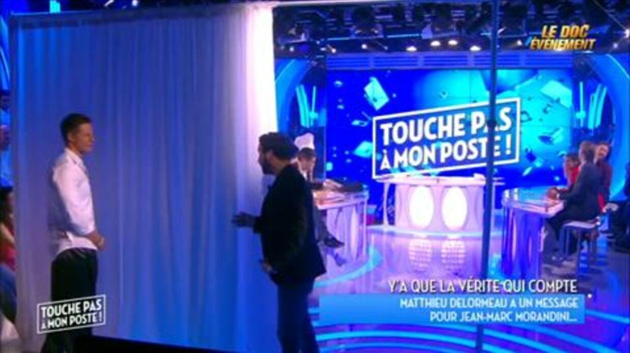 VIDEO Jean-Marc Morandini humilie Matthieu Delormeau dans TPMP en refusant une réconciliation