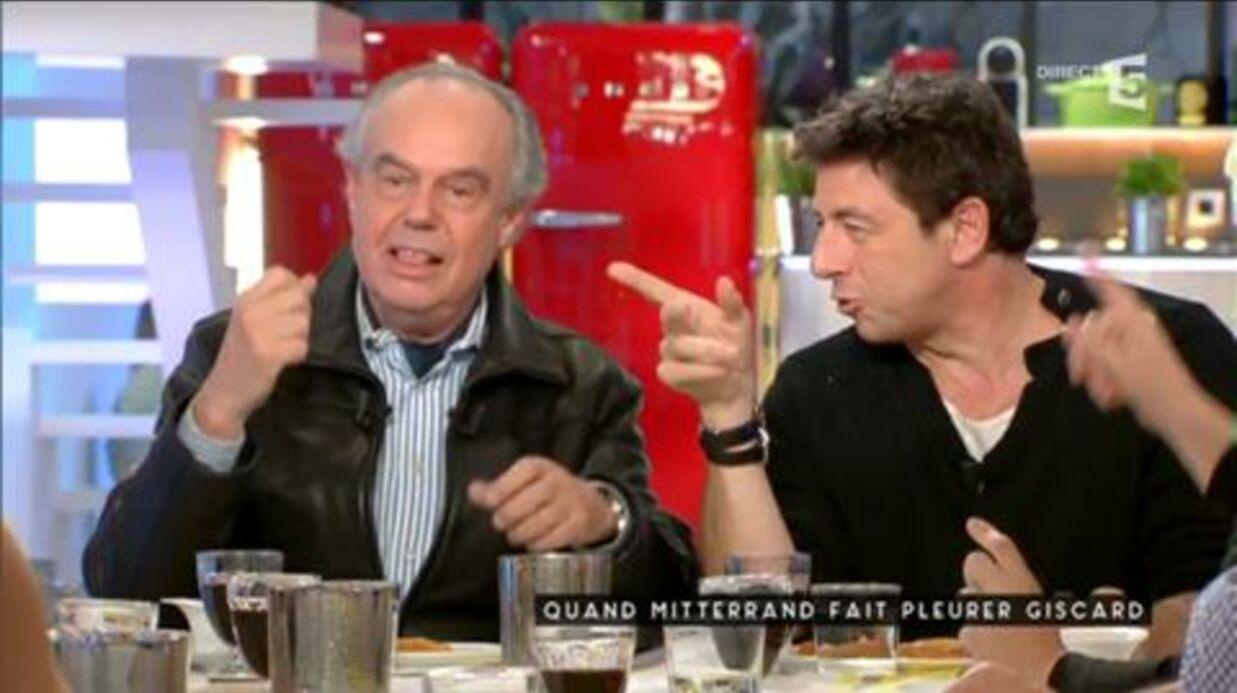 VIDEO Patrick Cohen tout gêné face à Frédéric Mitterrand qui le trouve séduisant
