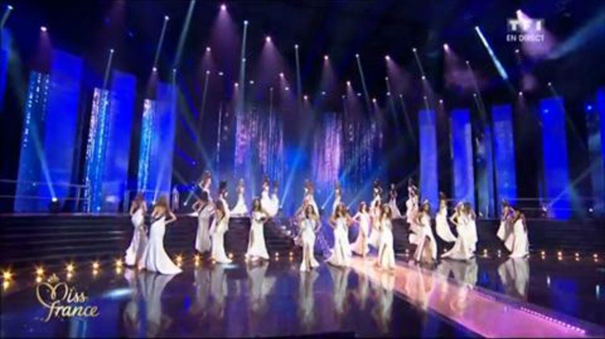 VIDEO Miss France 2016: Miss Roussillon chute en direct