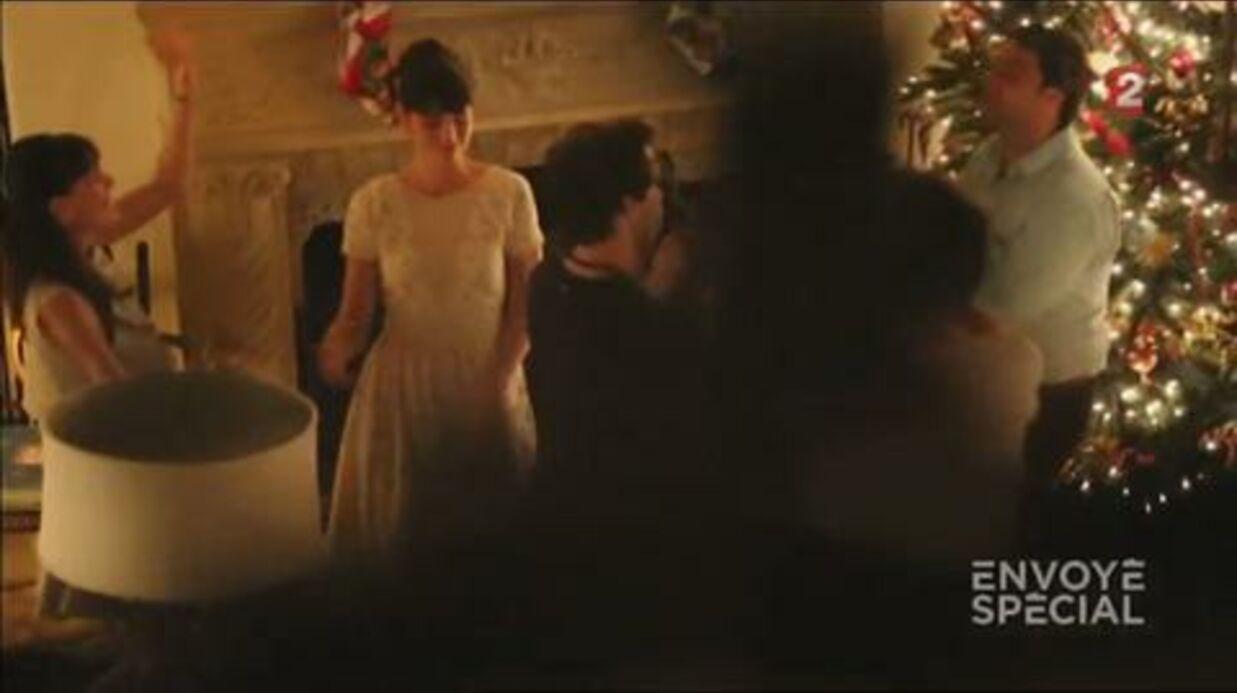 VIDEO Moment intime entre Mika et son compagnon Andy lors d'un dîner en famille