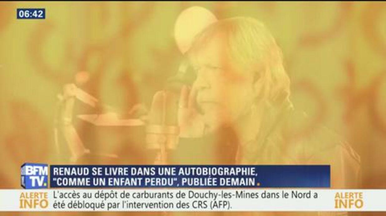 Renaud décrit l'enfer de son addiction a l'alcool dans son autobiographie