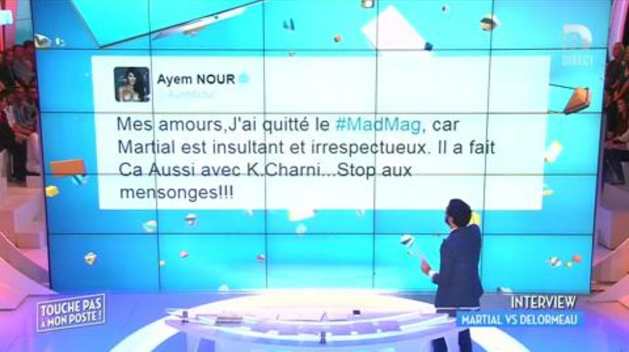 Martial s'explique sur les raisons du départ d'Ayem à la tête du Mad Mag