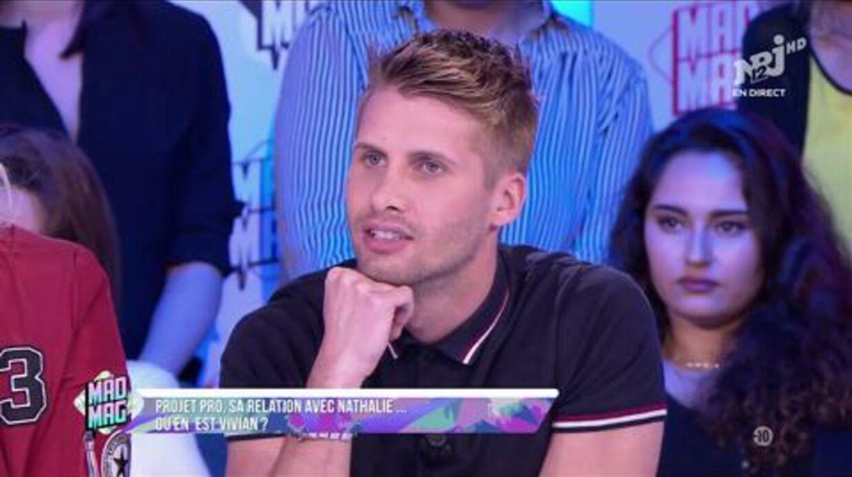 VIDEO Vivian (Les Anges 7): sa relation avec Nathalie, sa brouille avec Raphaël, ses projets, il balance tout et se fait clasher par Aurélie Van Daelen