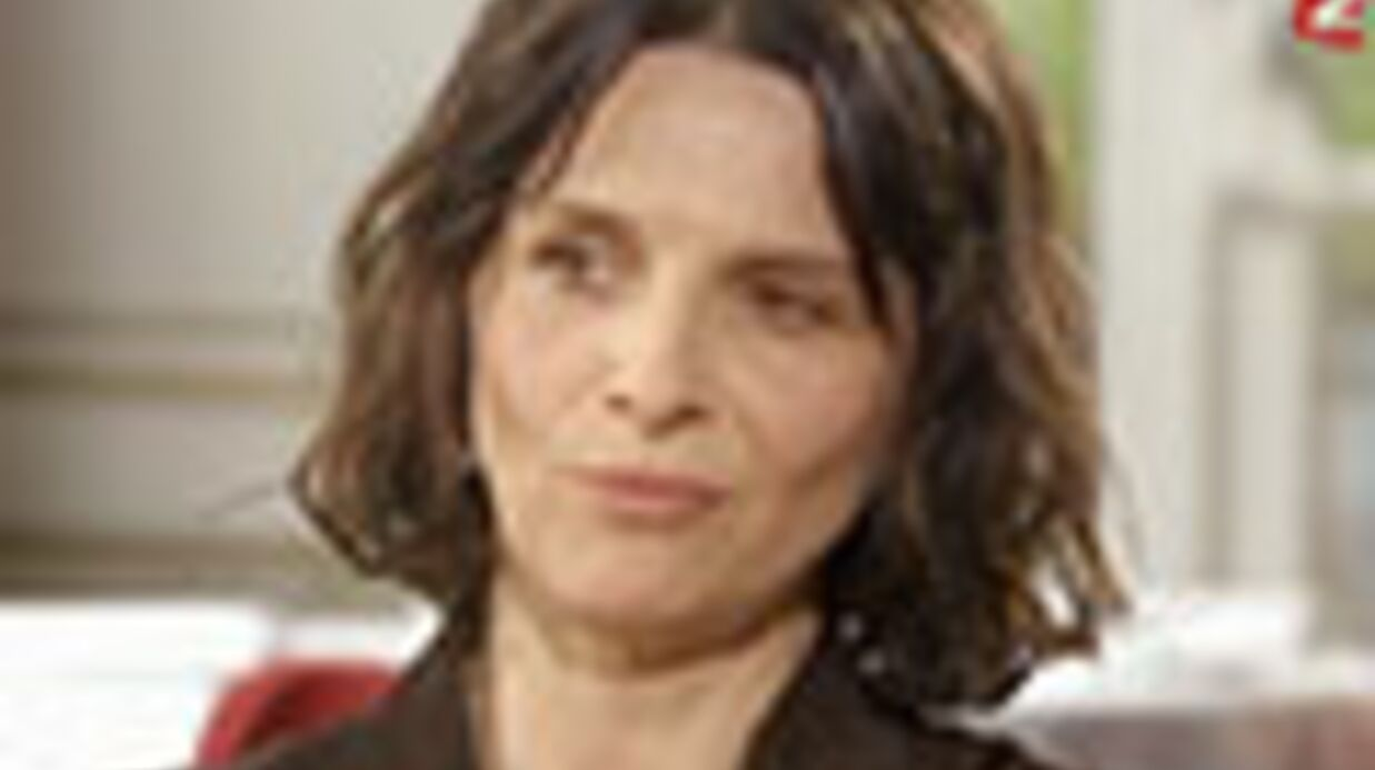 VIDEO Juliette Binoche évoque ses rela­tions tendues avec Fabrice Luchini