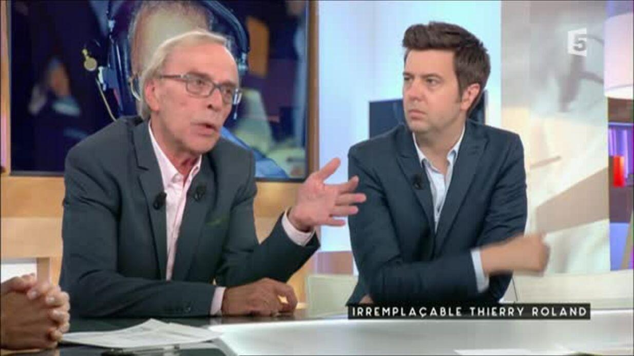 VIDEO Thierry Roland: Dominique Grimault évoque la «violence inouïe» de son licenciement