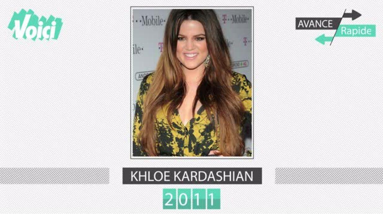 VIDEO Khloé Kardashian a 32 ans: son incroyable transformation entre 1995 et aujourd'hui