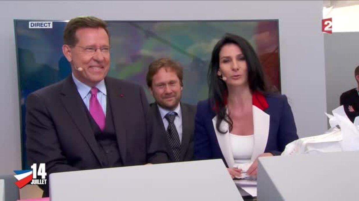 VIDEO Marie Drucker fait ses adieux et remercie les téléspectateurs