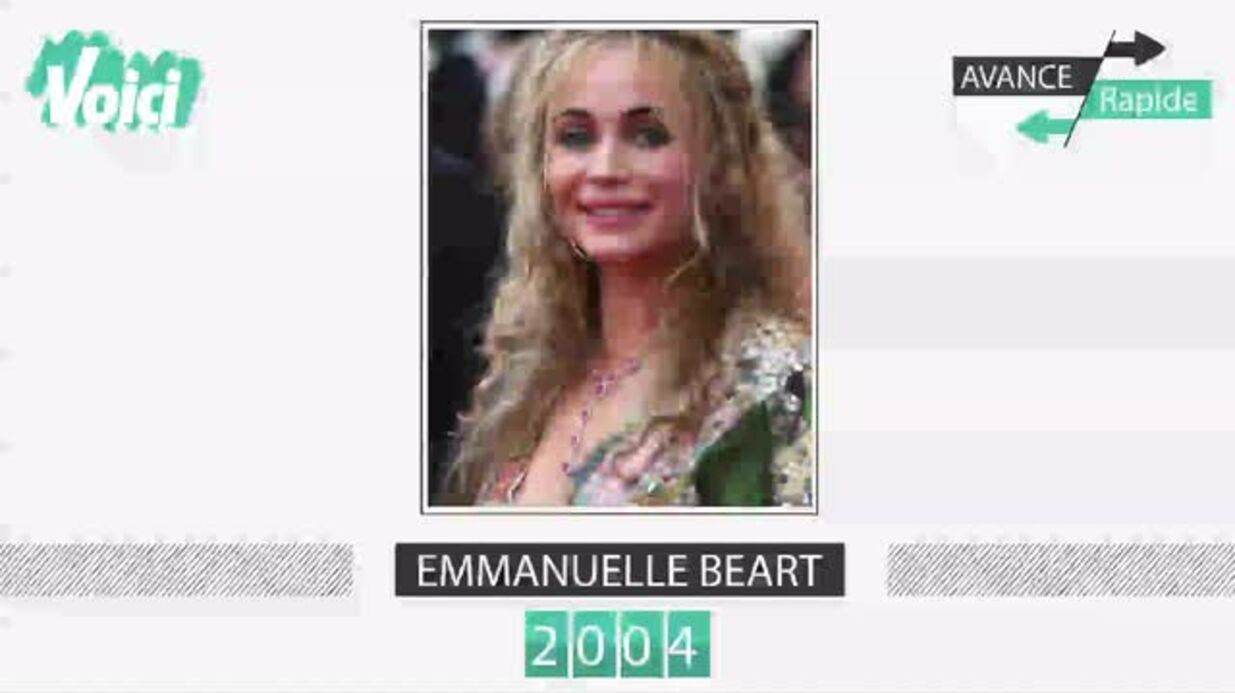 VIDEO Emmanuelle Béart a 53 ans: son évolution physique en une minute