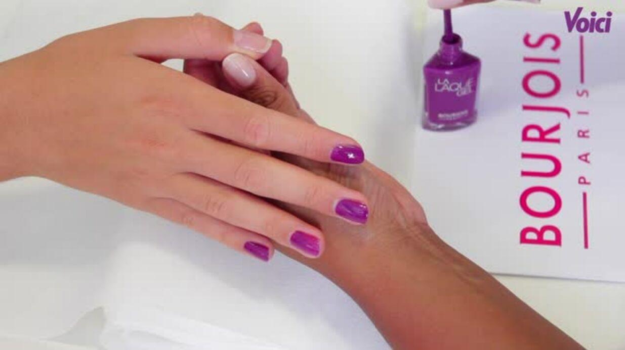 VIDEO Tuto manucure: optez pour la couleur raisin