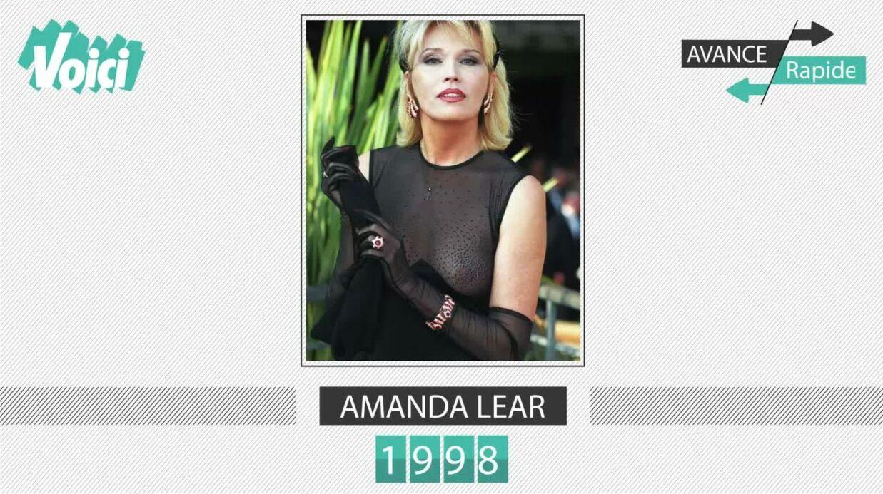 VIDEO C'est l'anniversaire d'Amanda Lear: son évolution physique en une minute