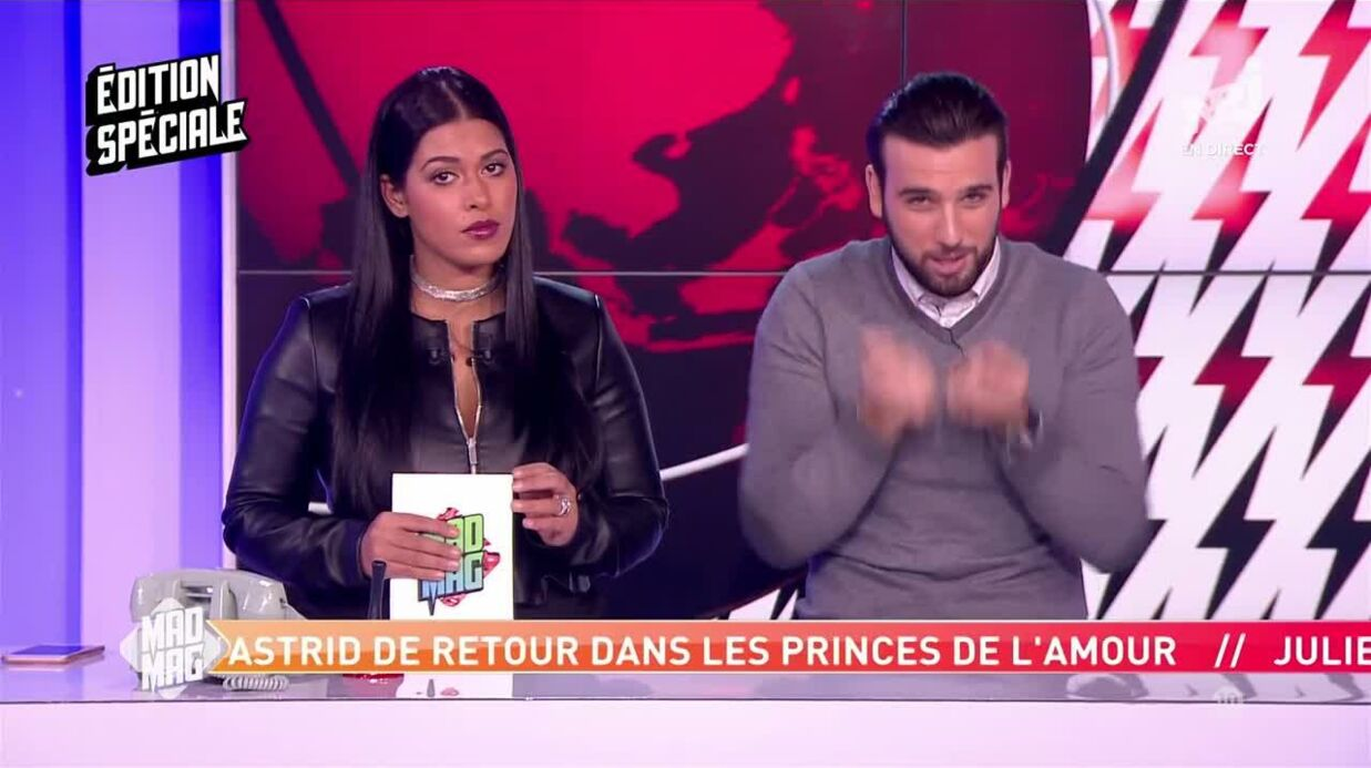 VIDEO Mad Mag: Aymeric Bonnery tacle méchamment Nehuda et sa nouvelle chanson
