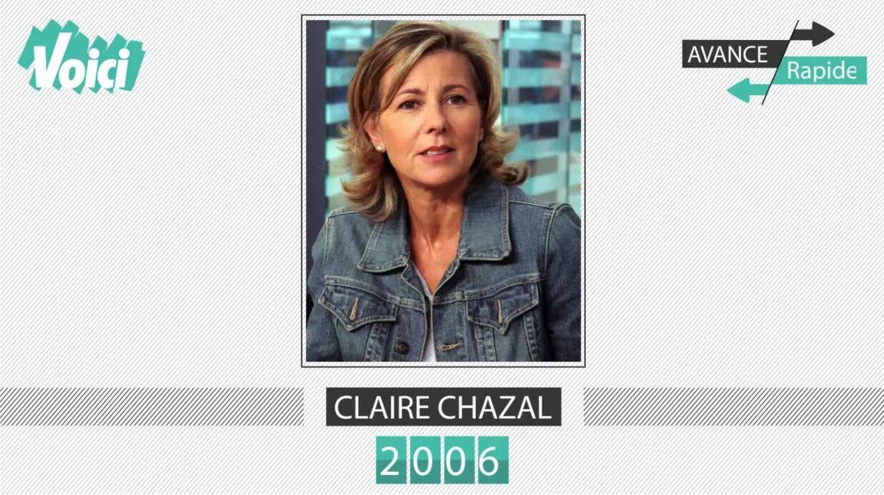 Claire Chazal a 60 ans: son évolution physique en une minute