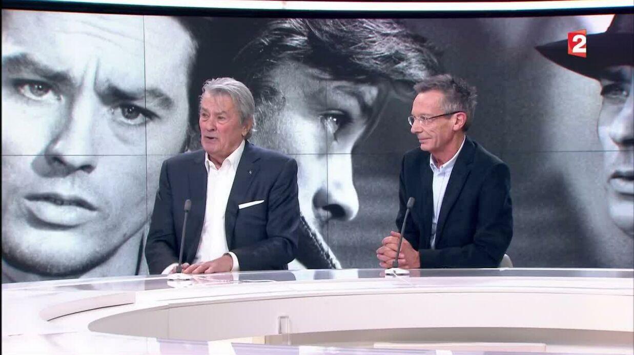VIDEO Alain Delon révèle que Mireille Darc a de nouveau failli mourir très récemment