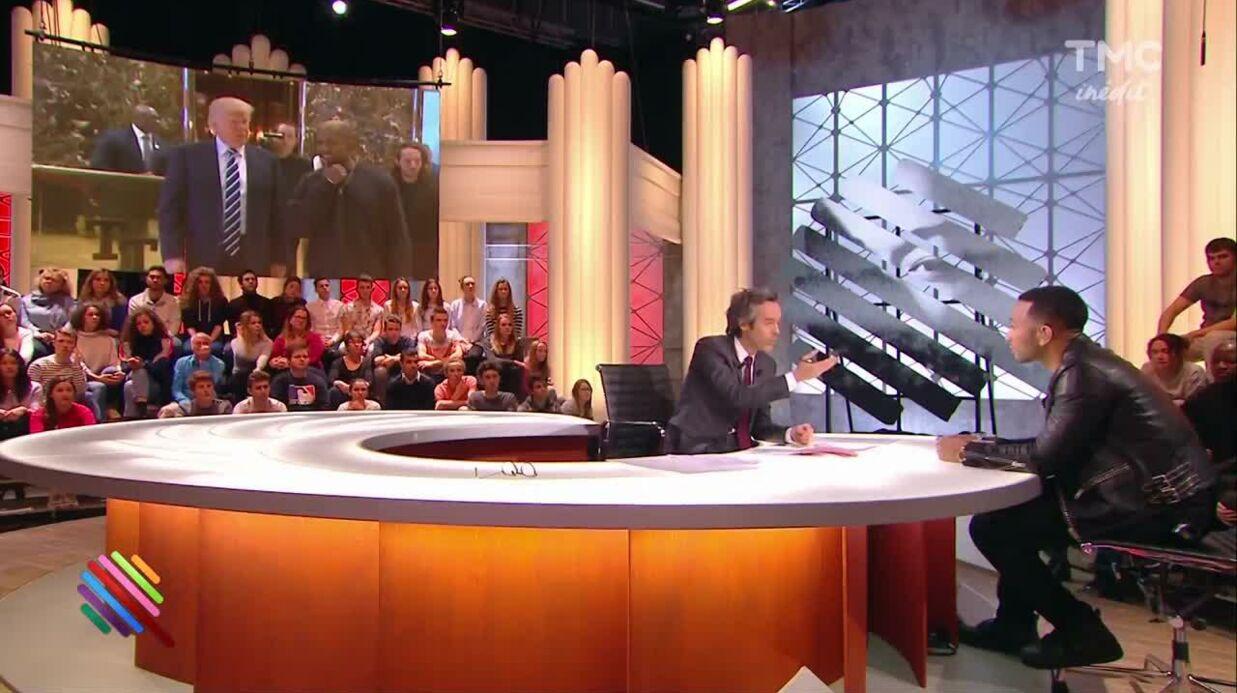 VIDEO John Legend confie qu'il est «déçu» par son ami Kanye West qui soutient Trump
