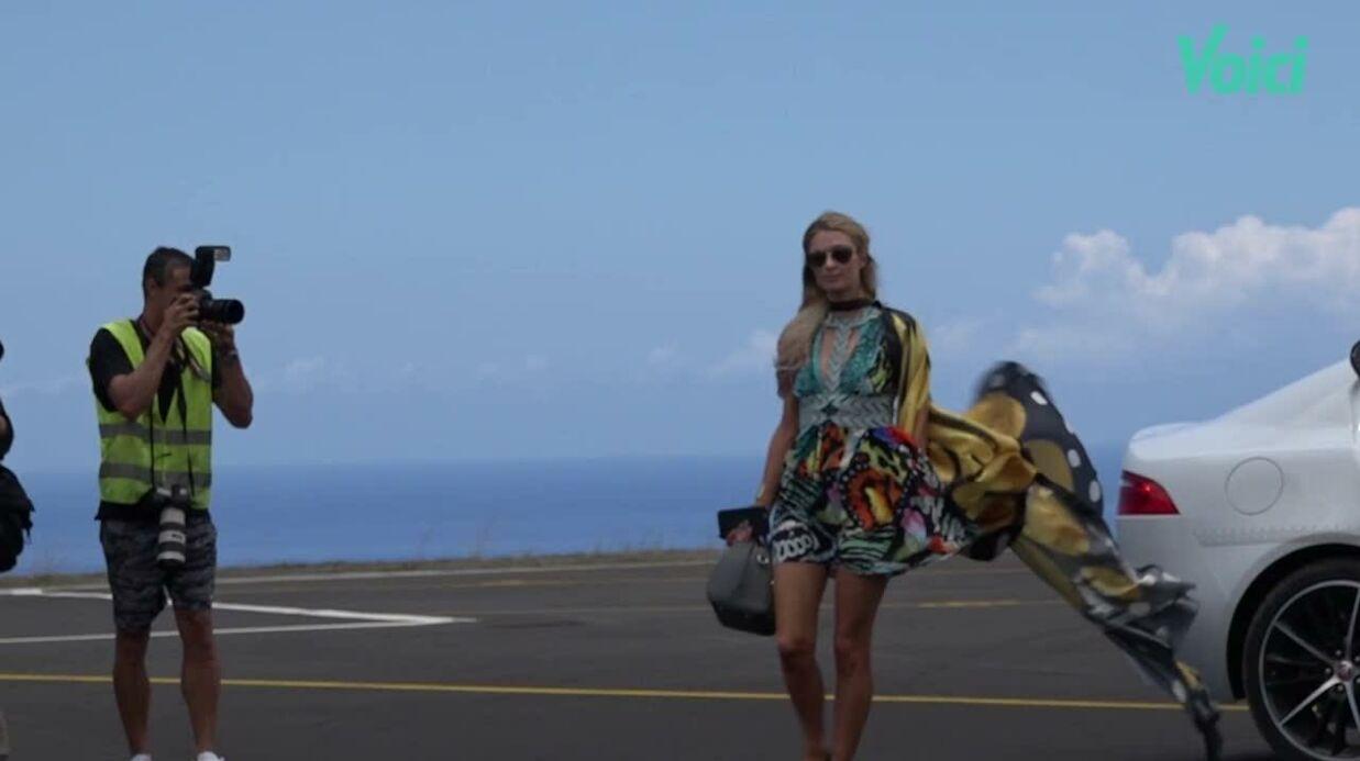 VIDEO Dans les pas de Paris Hilton pour son Gold Rush Tour à La Réunion