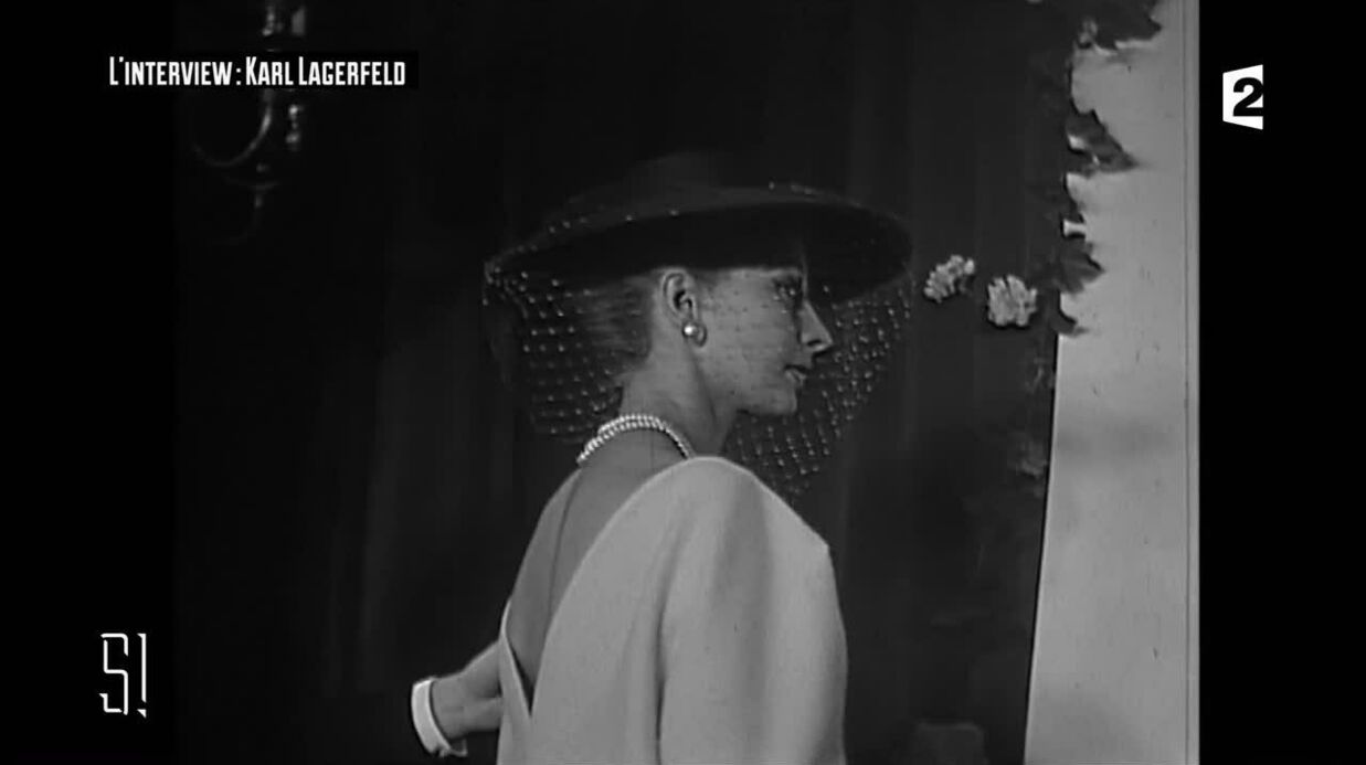 VIDEO Découvrez Karl Lagerfeld TRES timide à ses débuts