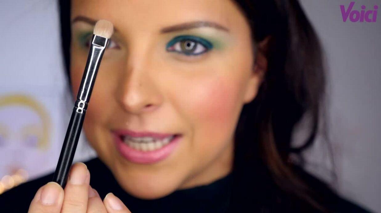VIDEO Le tuto make-up de Ludivine: le smoky vert sapin s'adapte à toutes les couleurs d'yeux