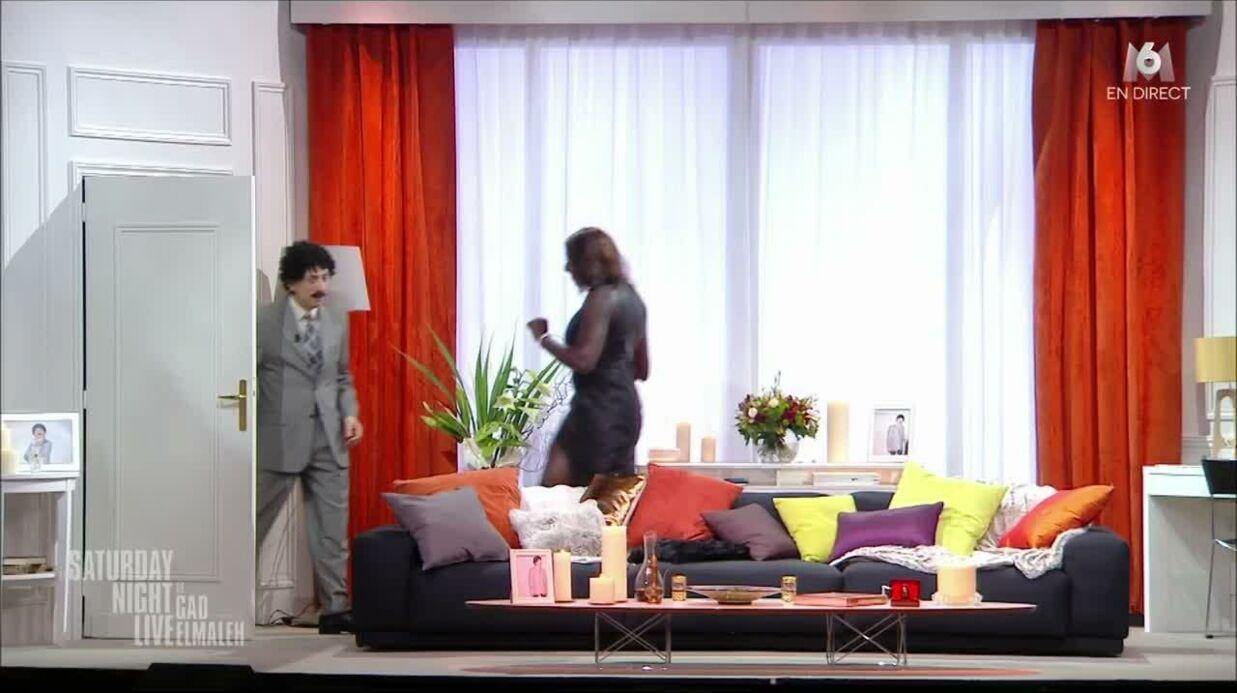 VIDEO Karine Le Marchand parodiée par Ahmed Sylla, elle trouve ça hilarant