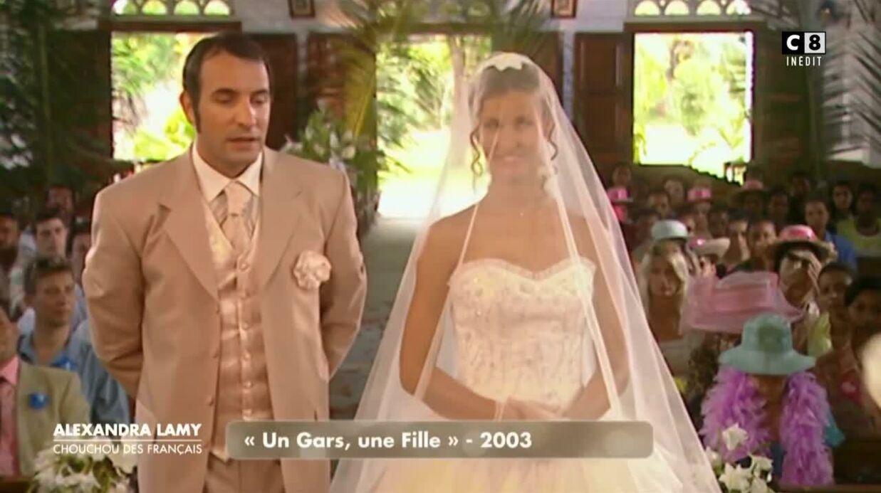Alexandra Lamy se souvient des débuts intenses de son histoire d'amour avec Jean Dujardin