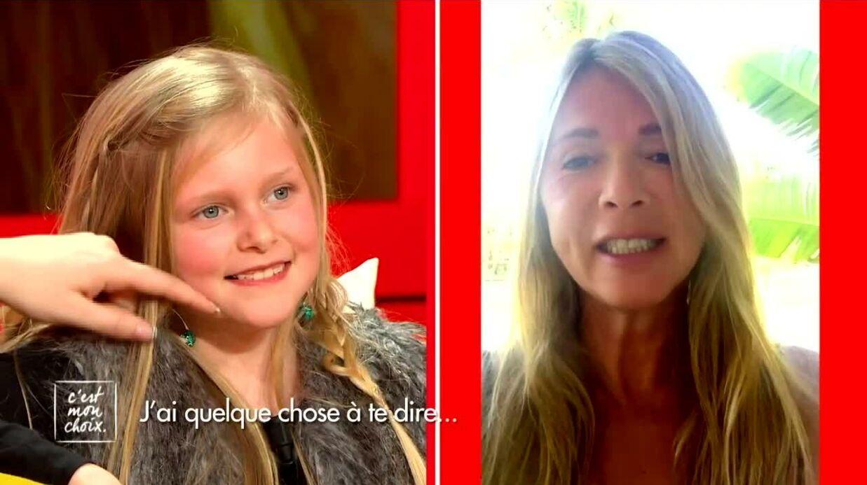 VIDEO Hélène Rollès fait pleurer une petite fille en réalisant son rêve