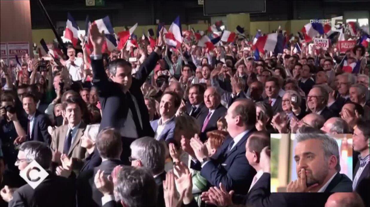 VIDEO En meeting, François Fillon et sa femme Penelope s'ignorent royalement au moment des salutations