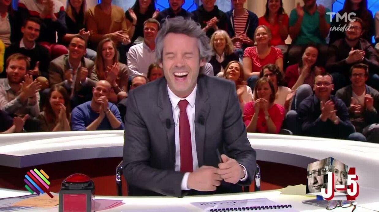 VIDEO Hugo Clément très gêné face à un militant de François Fillon qui lui fait une proposition coquine