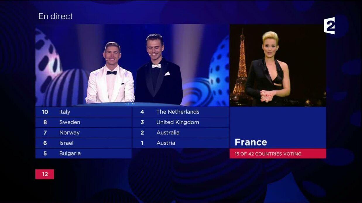 Eurovision 2017: Elodie Gossuin a finalement poussé la chansonnette