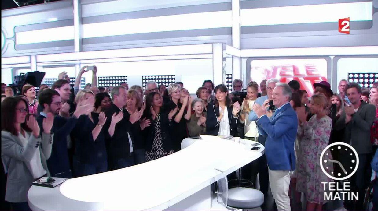 VIDEO William Leymergie ému aux larmes dans son dernier Télématin