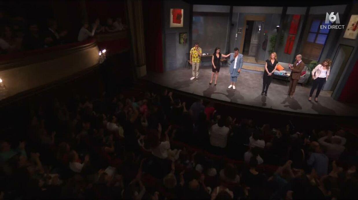 VIDEO Emporté par l'émotion, Stéphane Plaza fond en larmes à la fin de sa pièce