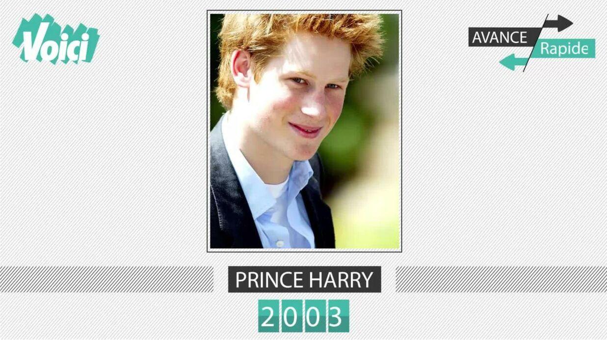 Spécial 30 ans de Voici – Prince Harry: son évolution physique en une minute