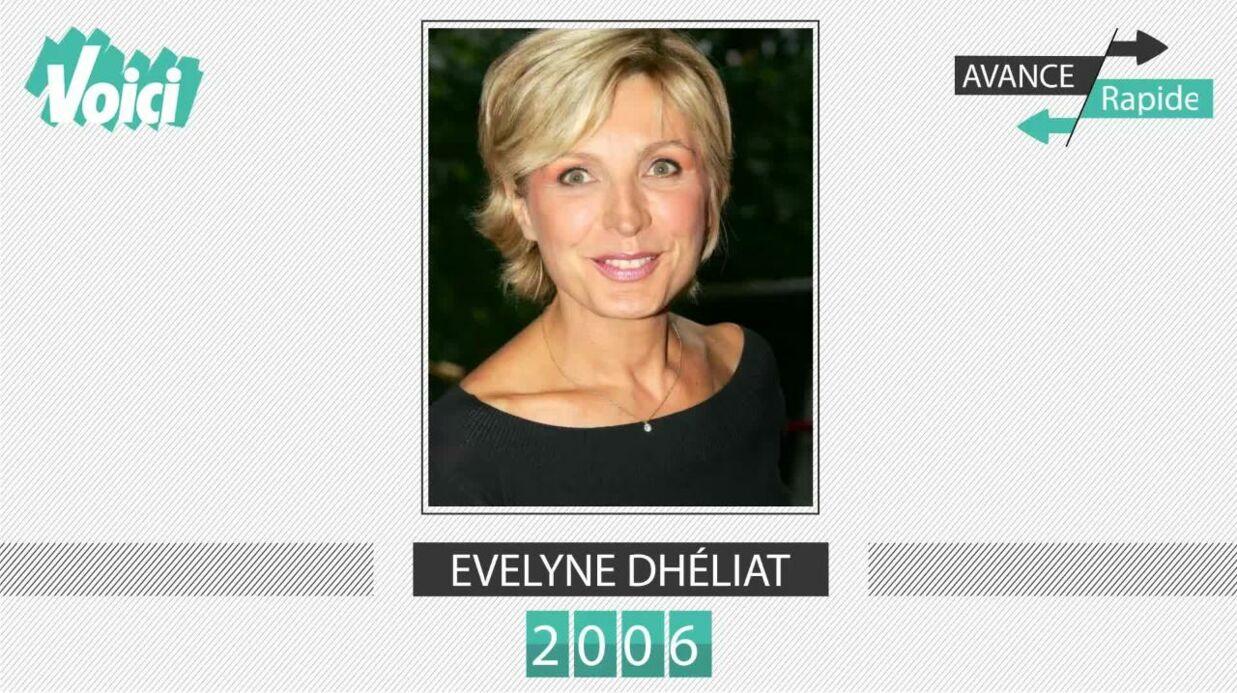 Spécial 30 ans de Voici – Evelyne Dhéliat: son évolution physique en une minute