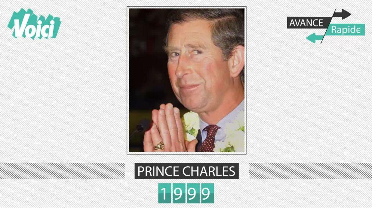 Spécial 30 ans de Voici – Prince Charles: son évolution physique en une minute