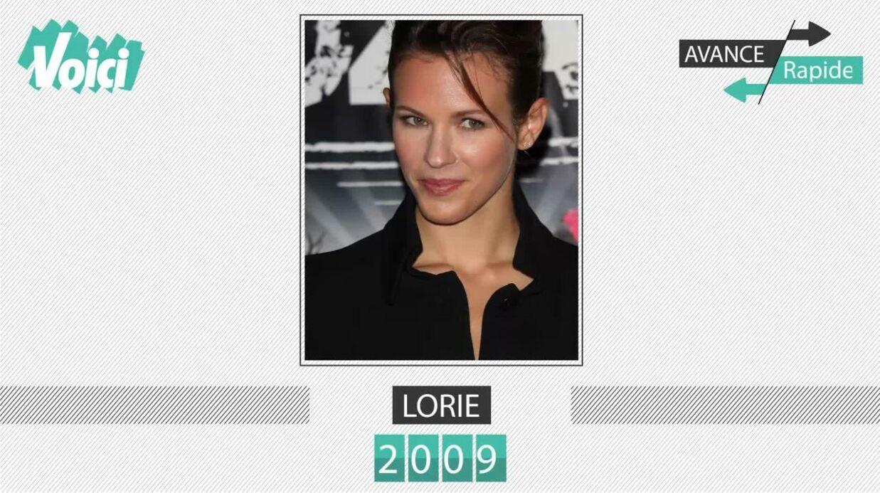 Spécial 30 ans de Voici – Lorie: son évolution physique en une minute