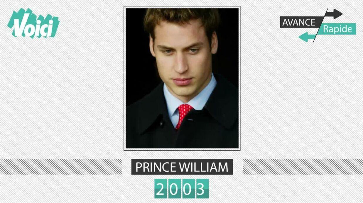 Spécial 30 ans de Voici – Prince William: son évolution physique en une minute