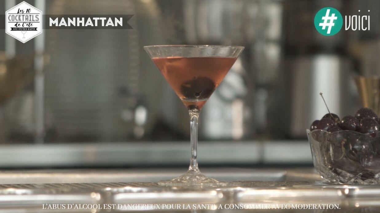 Les 10 cocktails de l'été de Stephen Martin: le Manhattan