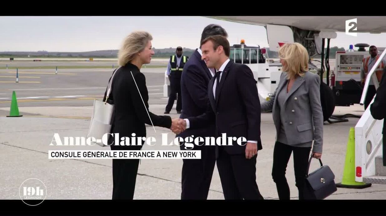 VIDEO Emmanuel et Brigitte Macron: leur tendre baiser à New York