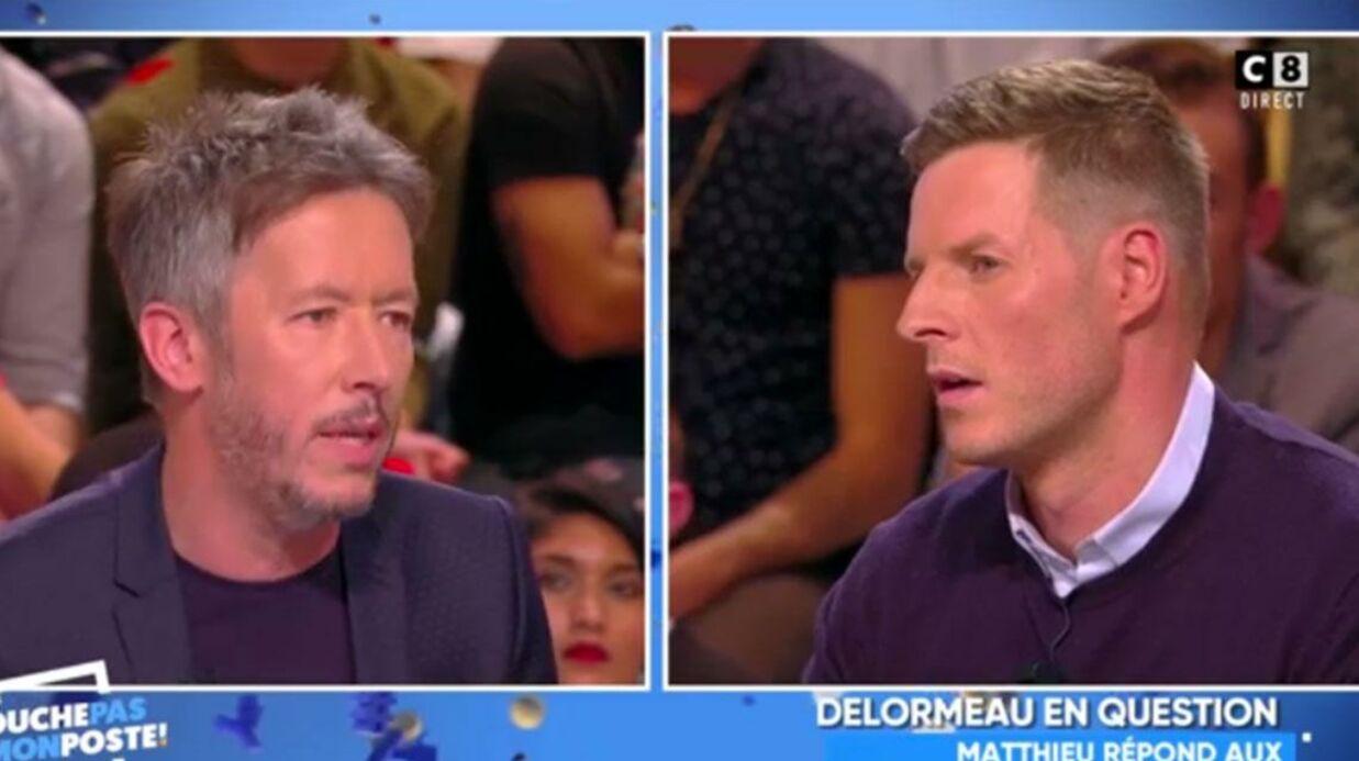 VIDEO Matthieu Delormeau de retour dans TPMP: les chroniqueurs dénoncent sa lâcheté