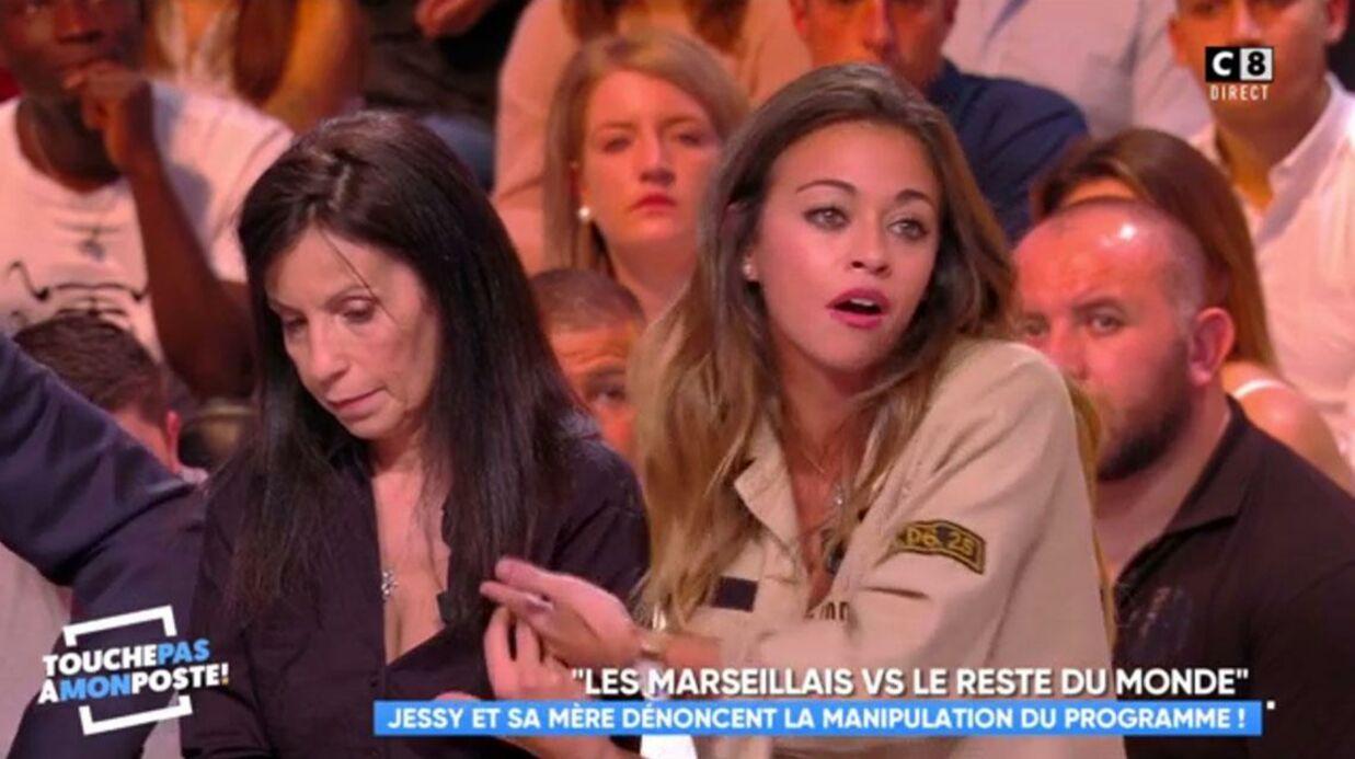 VIDEO En plateau avec sa mère dans TPMP, Jessy dénonce la manipulation des Marseillais