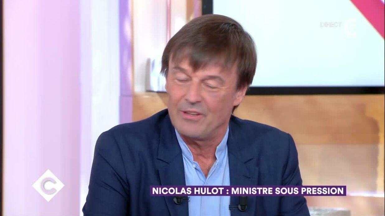 VIDEO Nicolas Hulot revient sur son cocard, dû a un accident de kitesurf