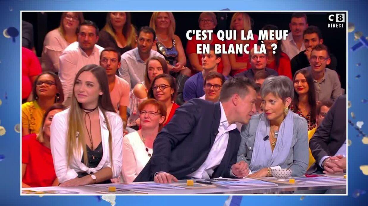 VIDEO Quand Benjamin Castaldi ne reconnaît par Charlotte Pirroni (assise juste à côté de lui)