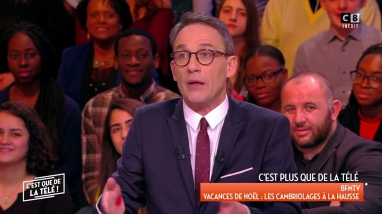 VIDEO Julien Courbet raconte le jour où il s'est fait cambrioler