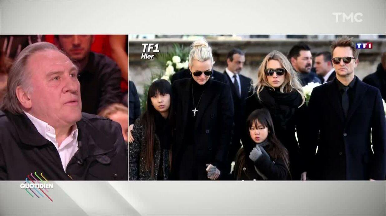 VIDEO Héritage de Johnny Hallyday: «Laeticia va en chier» selon Gérard Depardieu