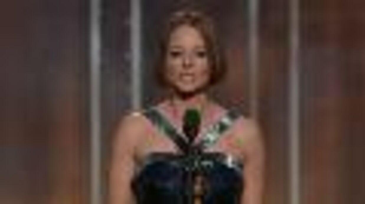 VIDEO Jodie Foster affirme son homosexualité aux Golden Globes