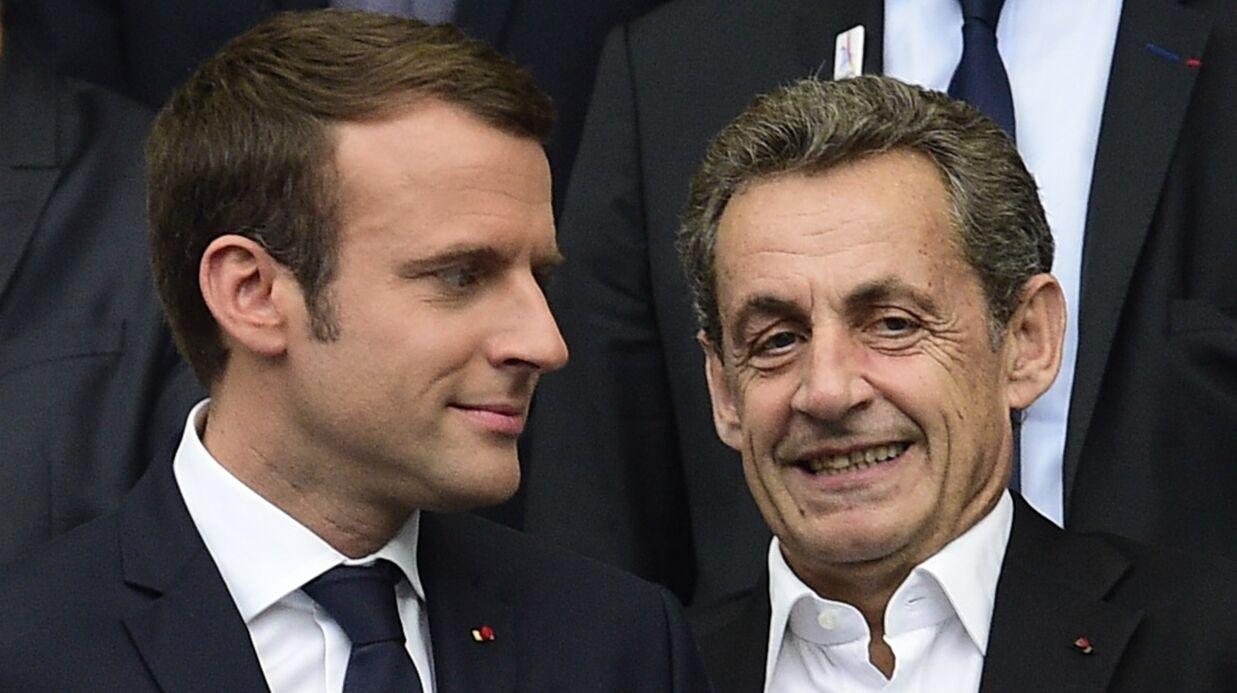 Emmanuel Macron: son dîner secret à l'Élysée avec Nicolas Sarkozy et Carla Bruni