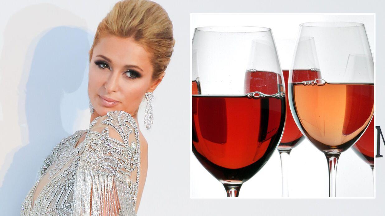 Le dernier parfum lancé par Paris Hilton rend hommage au vin rosé