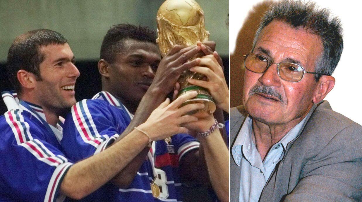 Zin dine zidane il y a 19 ans son p re n a pas regard la finale de la coupe du monde 98 - Coupe du monde moins de 19 ans ...