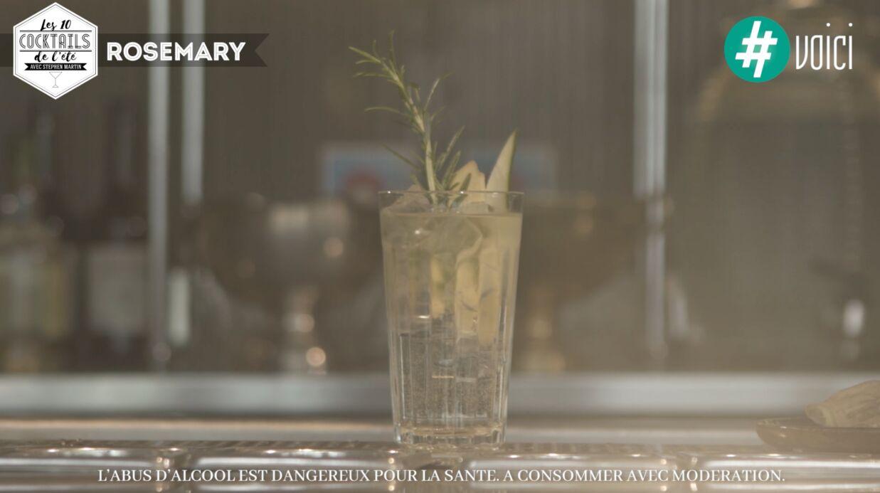 Les 10 cocktails de l'été de Stephen Martin: le rosemary