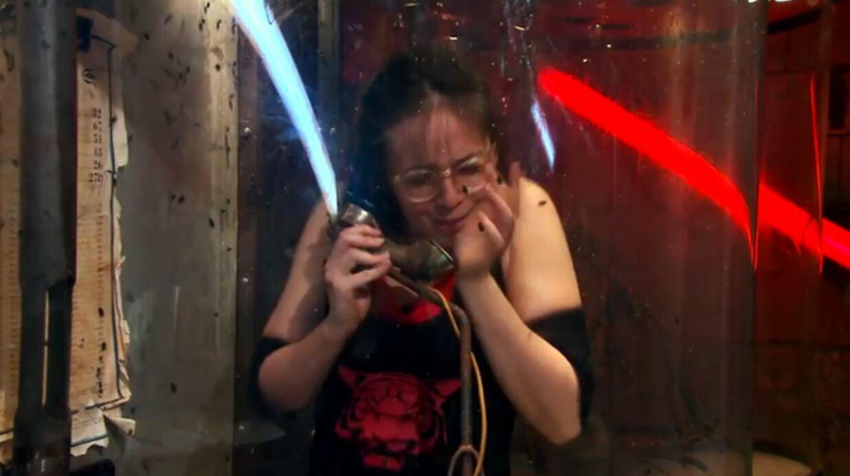 VIDEO Agathe Auproux en pleine crise de panique face aux insectes dans Fort Boyard